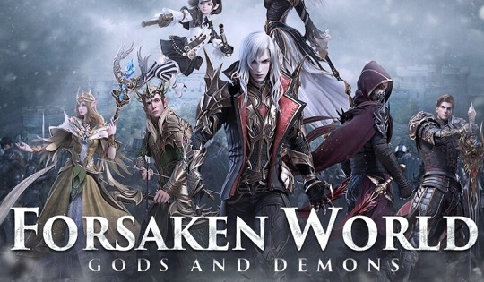Forsaken World Gods and Demons